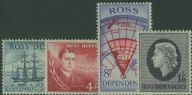 ROSS SG1-4 1957 Definitive set of 4